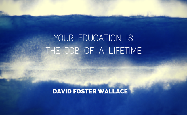 david foster wallace essay this is water Graduation speech, critical thinking - this is water a speech by david foster wallace.