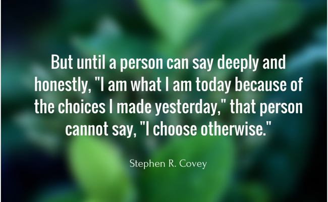 Stephen R. Covey on The 7 Habits of Highly Effective People
