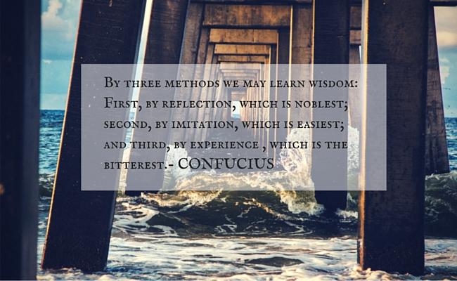 Confucius on Wisdom