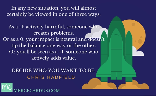 Chris Hadfield on Adding Value