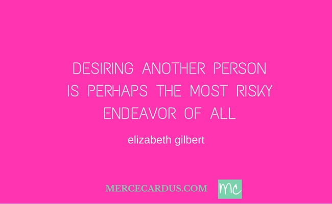 Elizabeth Gilbert on desire