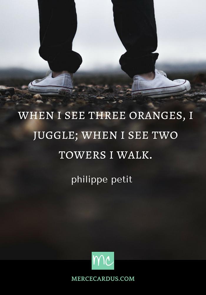 Philippe Petit on creativity