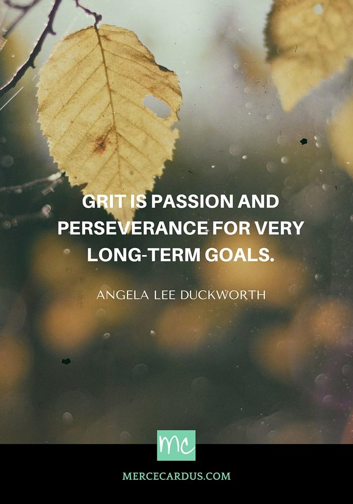 Angela Lee on grit
