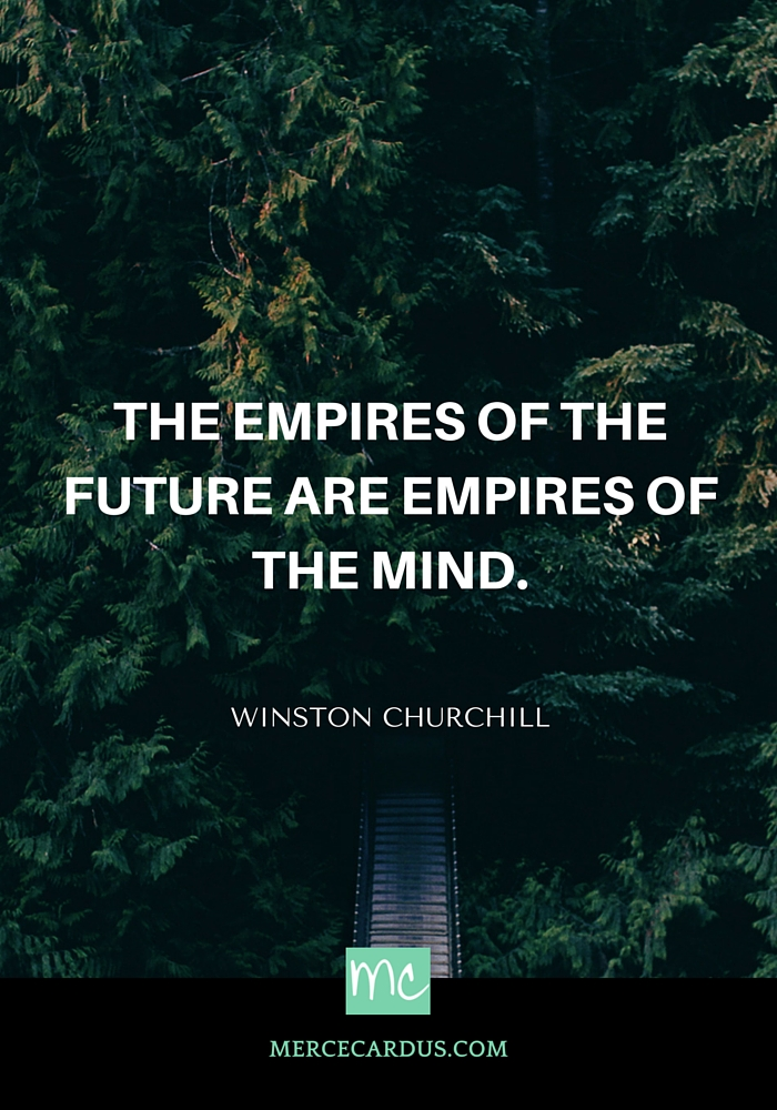 Winston Churchill on empires