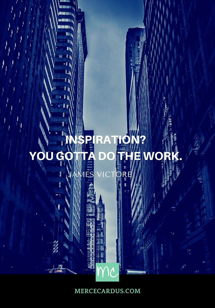 James Victore on inspiration