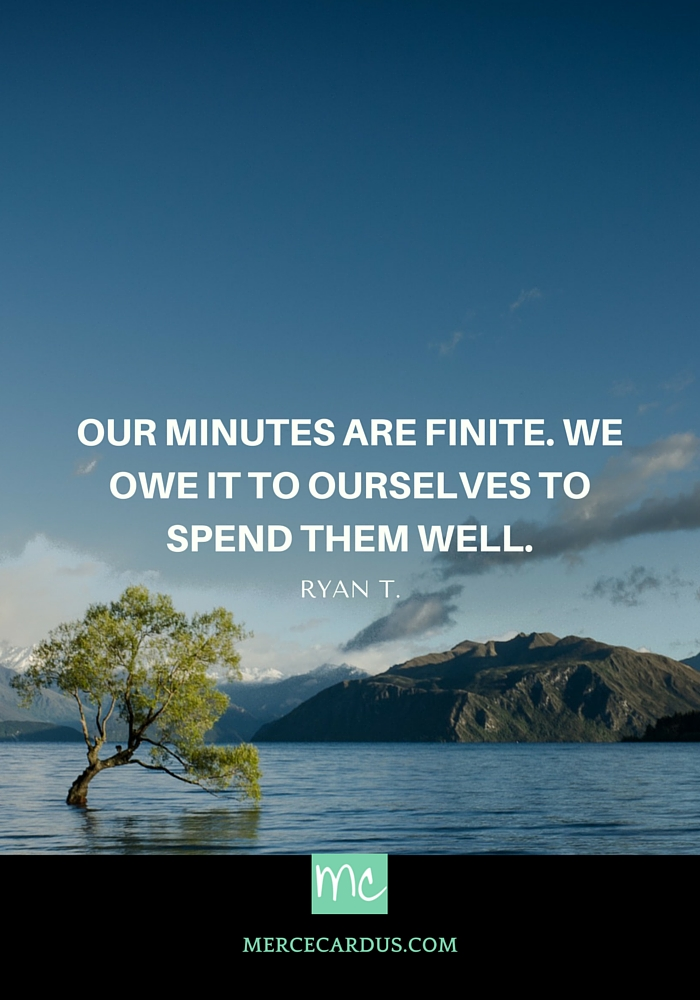 Ryan T. on time management