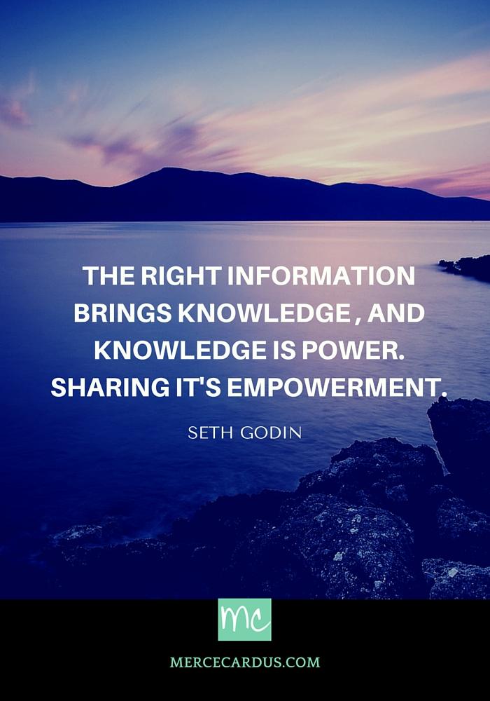 Seth Godin on information
