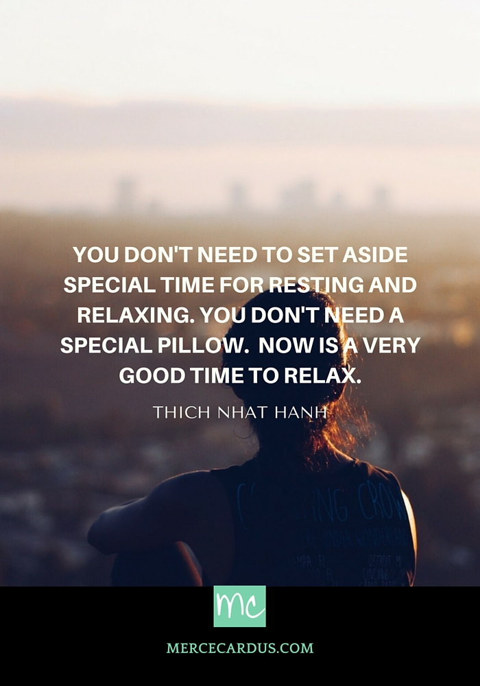 Thich Nhat Hanh on meditation