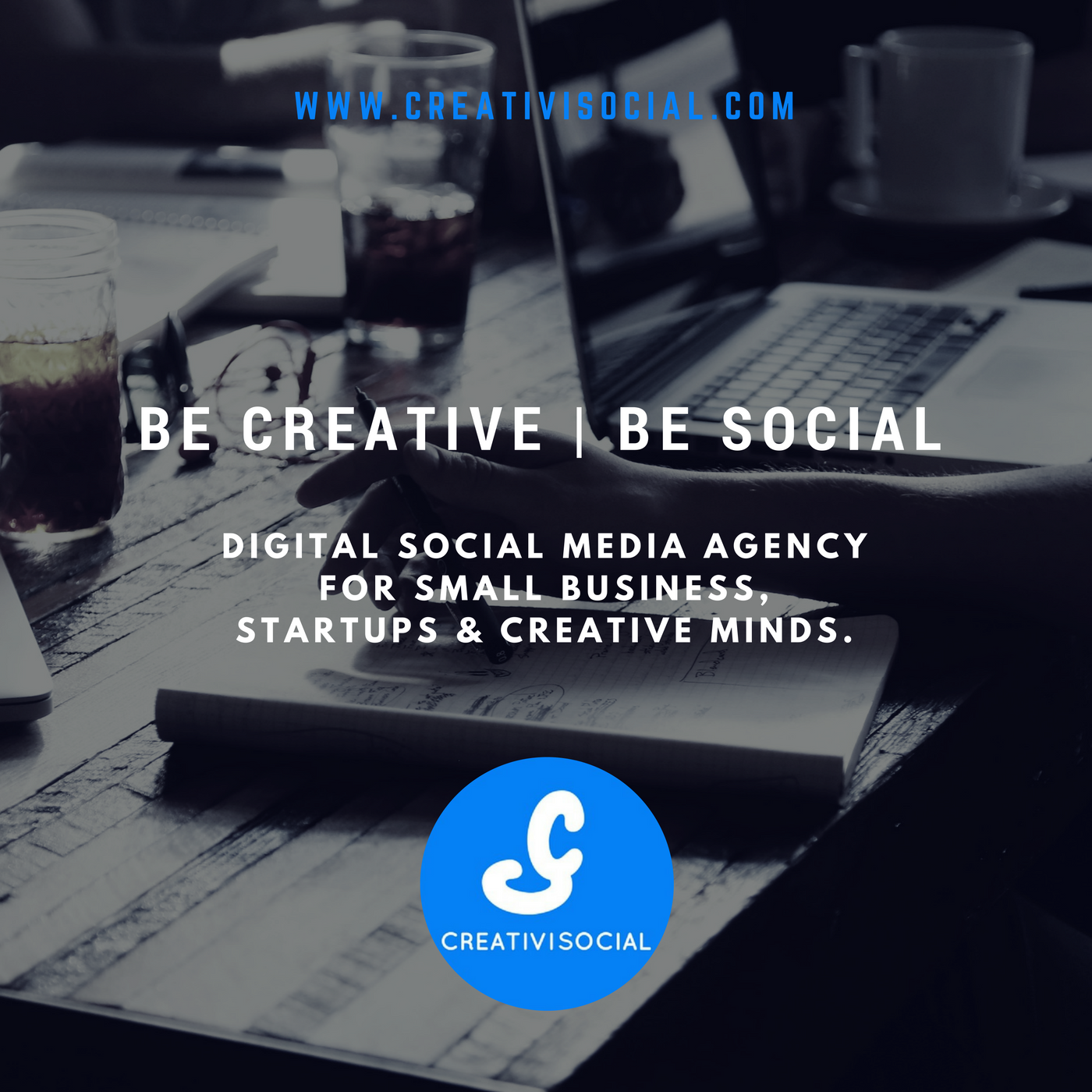 CreativiSocial Digital Social Media Agency for small business, startups and creative minds